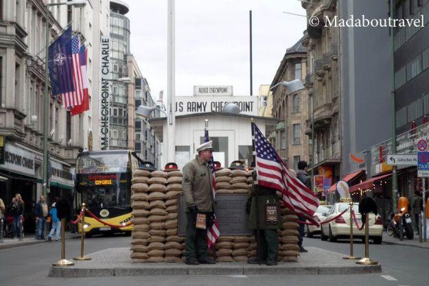Checkpoint Charlie, Berlín