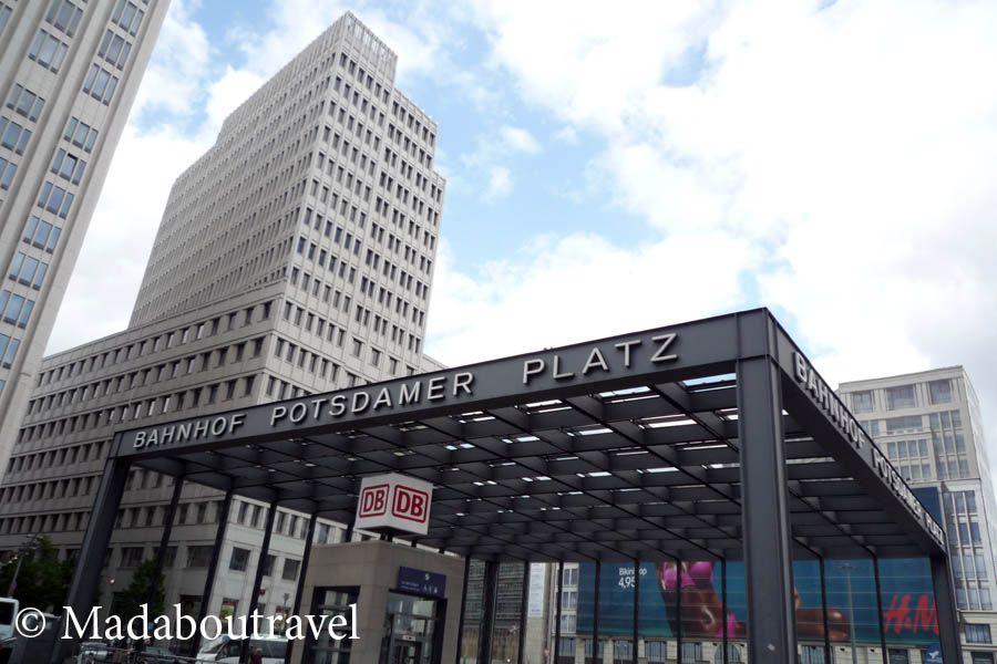 Postdamer Platz, Berlín