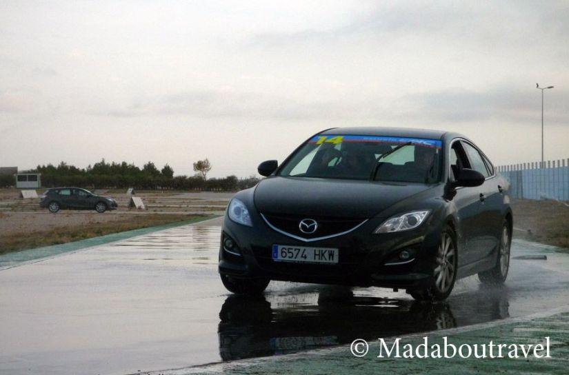 Escuela de conducción TAC en el Circuito de Albacete