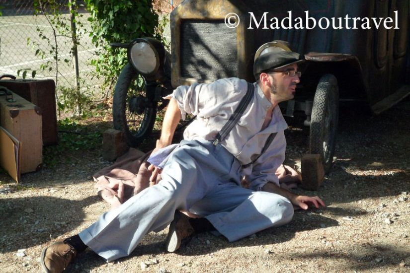 Visita teatralizada al refugio antiaéreo de la Guerra Civil de Montornès del Vallès