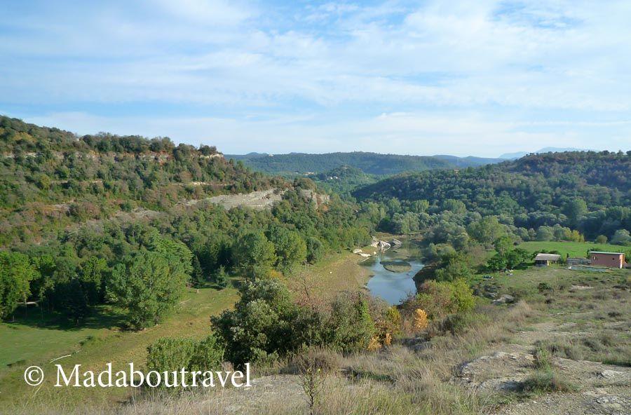 Vistas del río Ter desde l'Esquerda, Roda de Ter