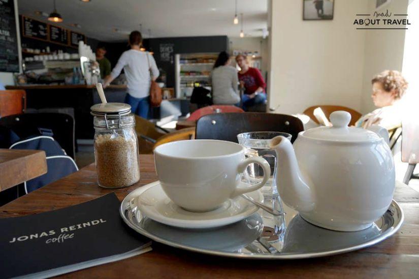 Cafetería Jonas Reindl en Viena