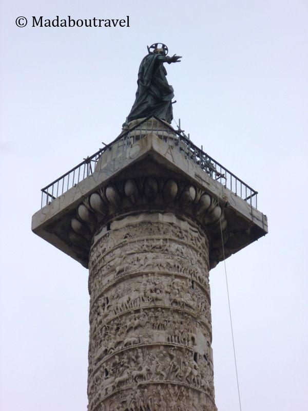 Columna de Marco Aurelio, Roma