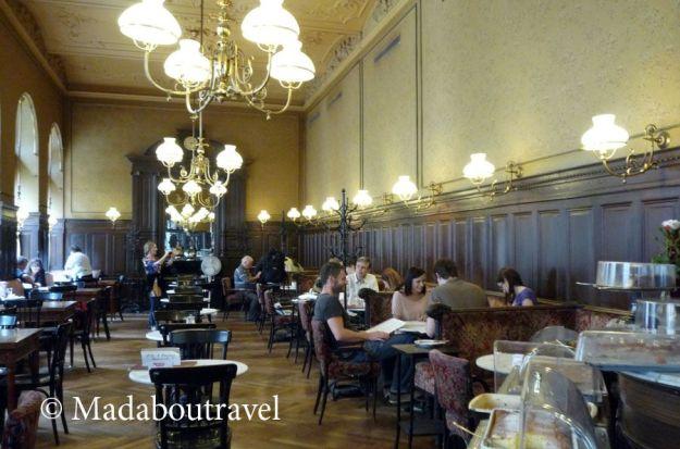 Interior del Café Sperl, Viena