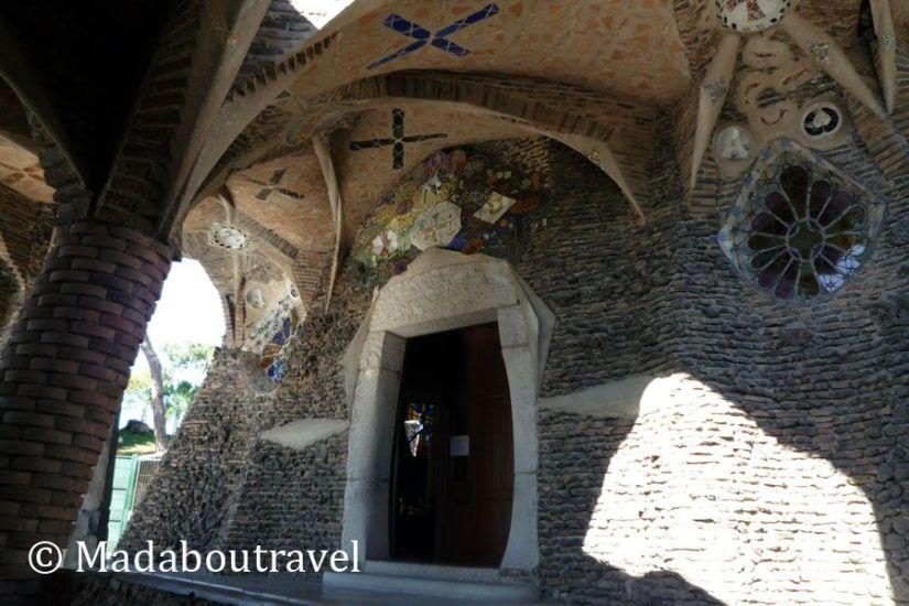 Interior de la cripta