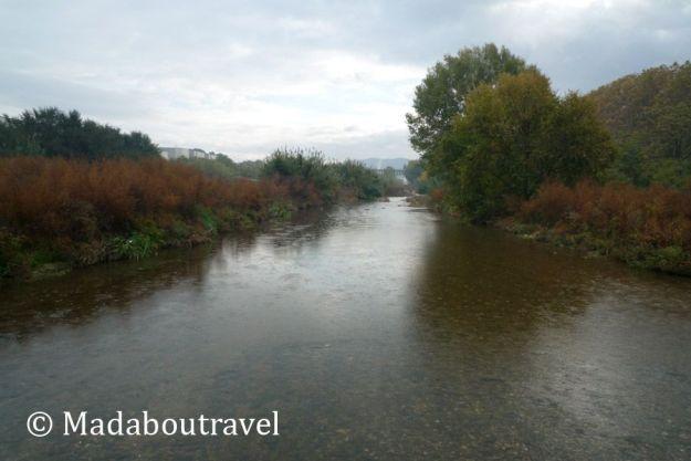 Río Besós a su paso por Montmeló