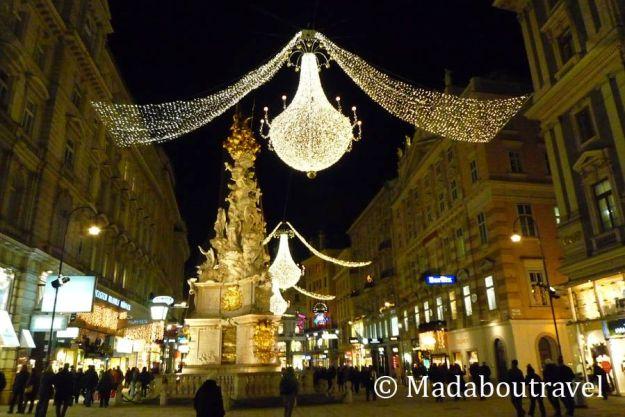 Luces de Navidad en Graben, Viena