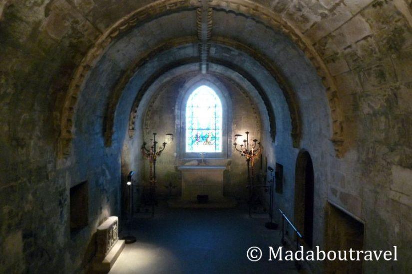 Cripta de la capilla de Rosslyn