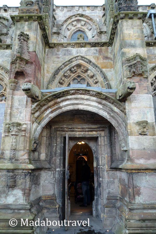 Entrada a la capilla de Rosslyn