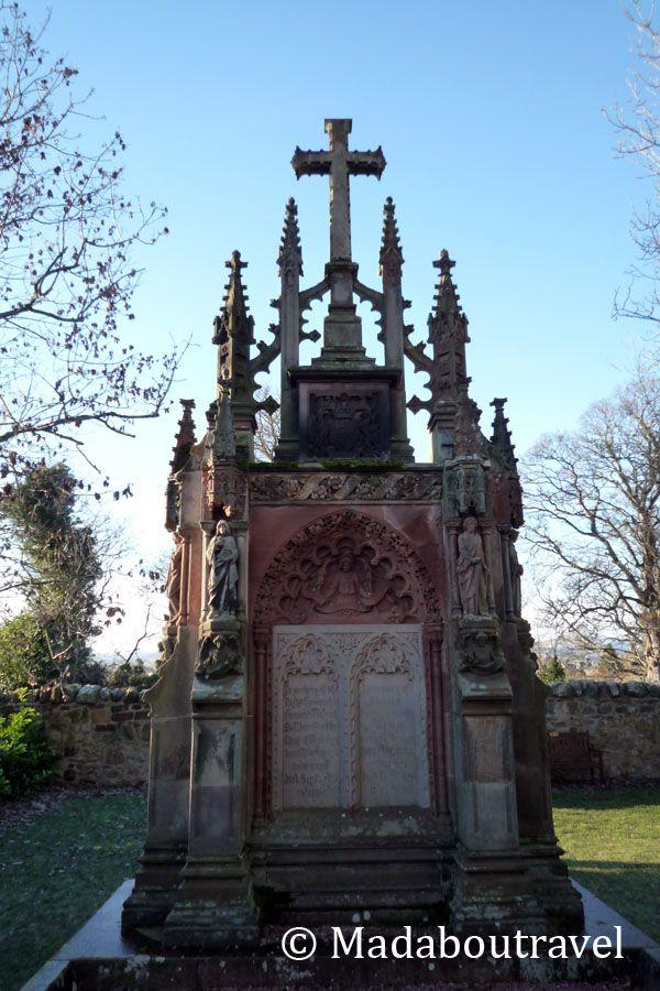 Monumento en la capilla de Rosslyn