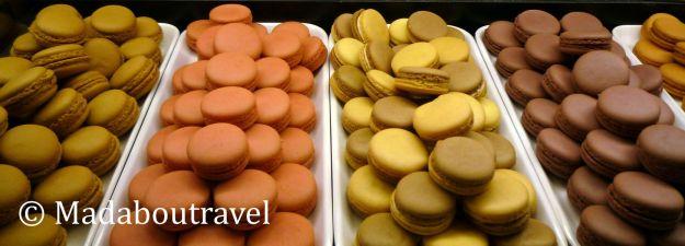 Los macarons de Café Dommayer