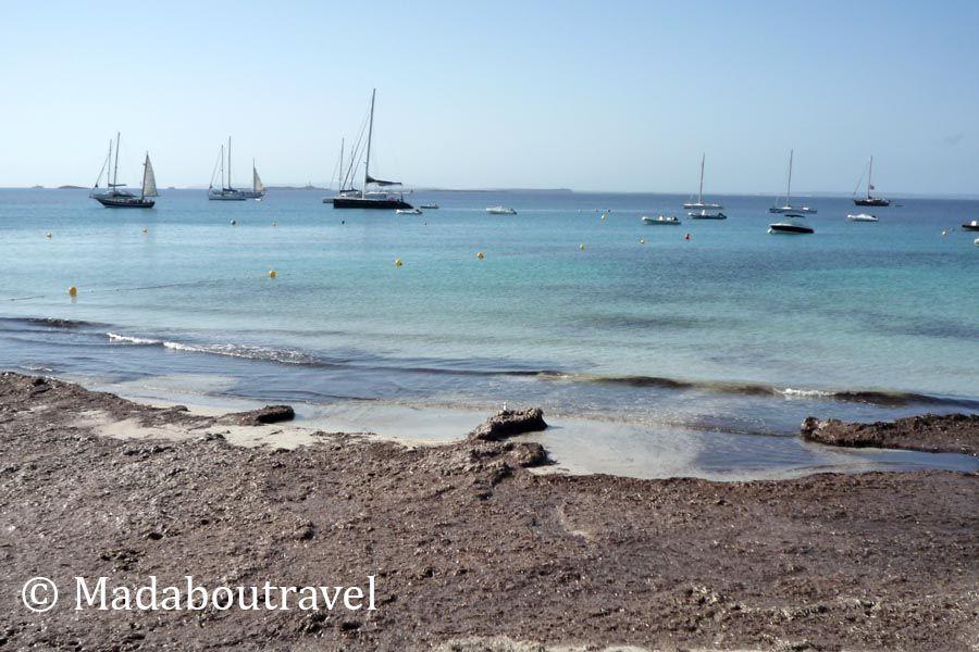 Playa de Ses Salines en Ibiza