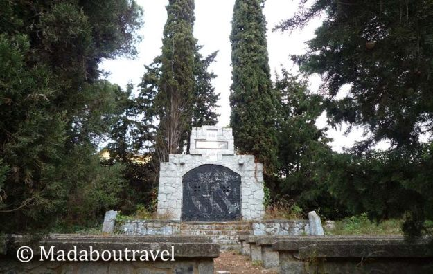 Monumento a los caídos en la Guerra Civil en el Coll de Parpers