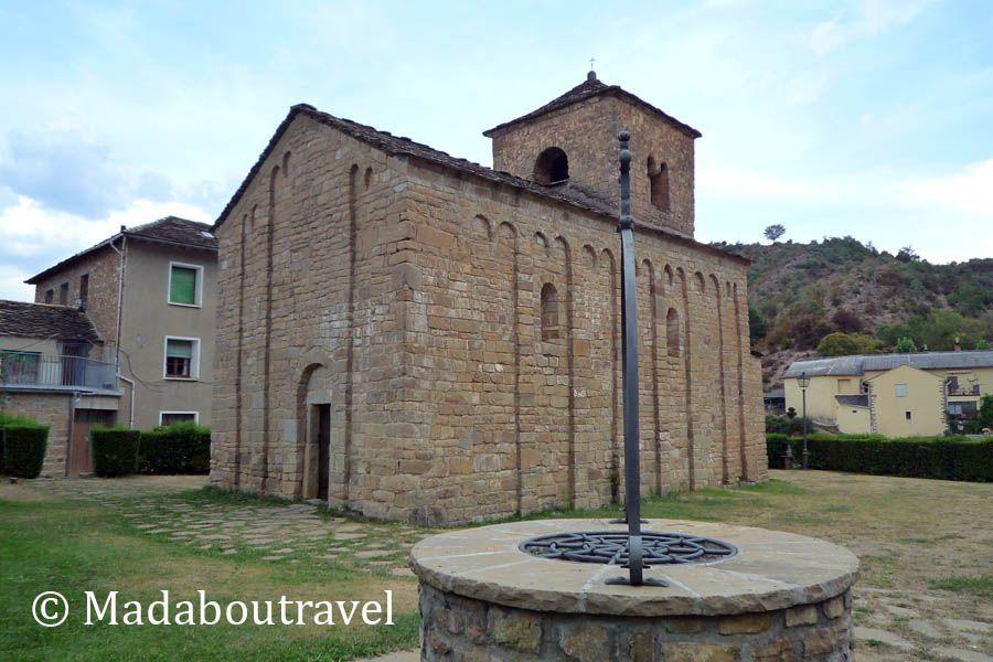 Iglesia de San Caprasio románico lombardo Santa Cruz de la Serós