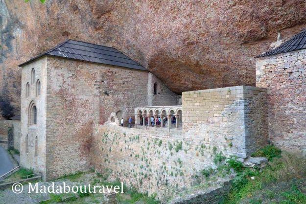 monasterio de san juan de la peña Huesca aragón románico