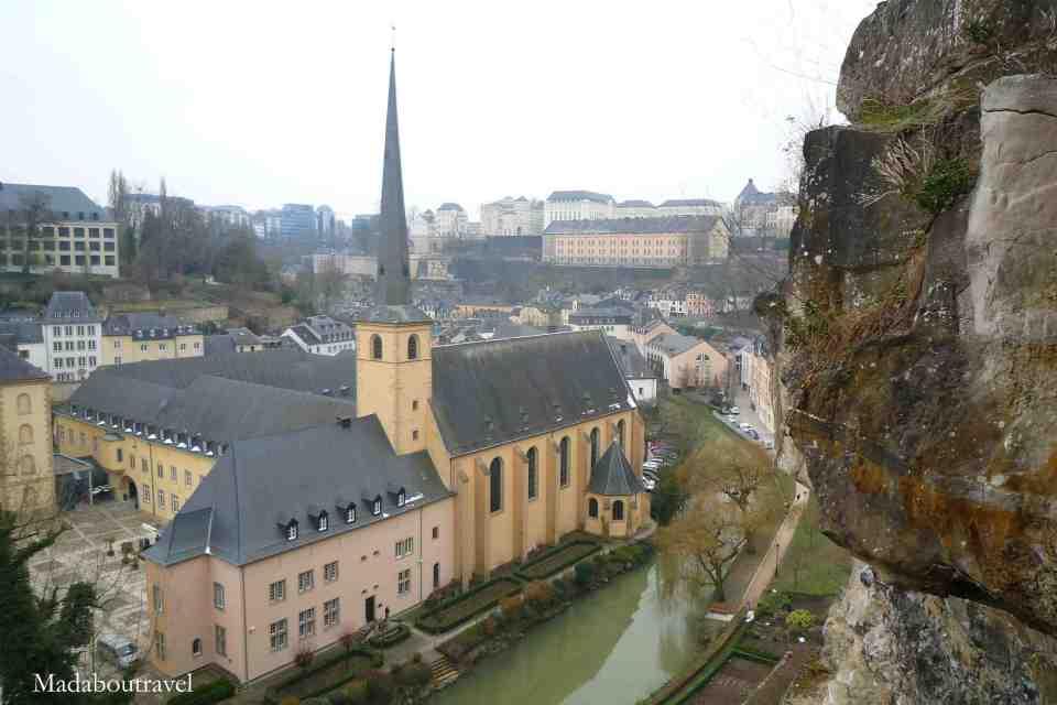 Vistas sobre el Grund de Luxemburgo