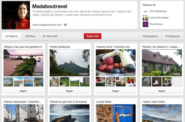 Madaboutravel en Pinterest