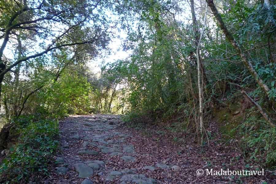 Antiguo camino a Santa Pau