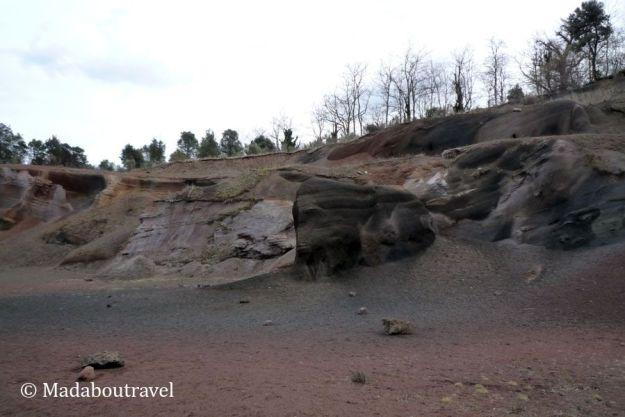 Paisajes lunares en el volcán Croscat
