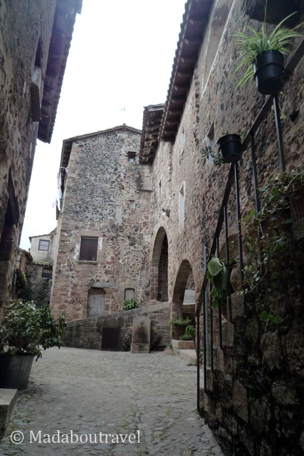 Rincón medieval de Santa Pau