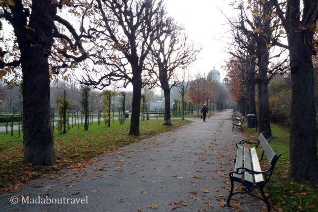 Parque en Viena