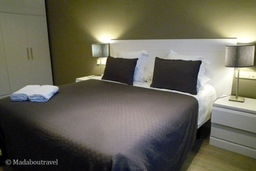Mi habitación en Rambla Catalunya Suites de Aspasios