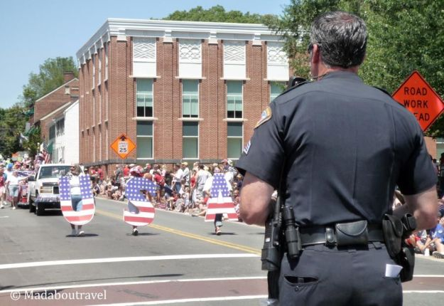 Desfile del 4 de Julio en Leesburg, Virginia