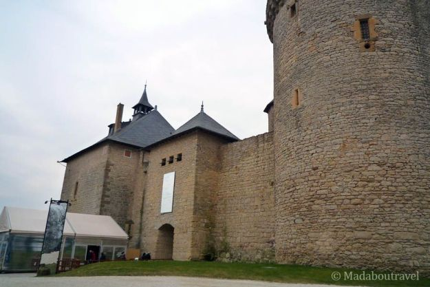 Castillo de Malbrouck, en Manderen (Lorena)