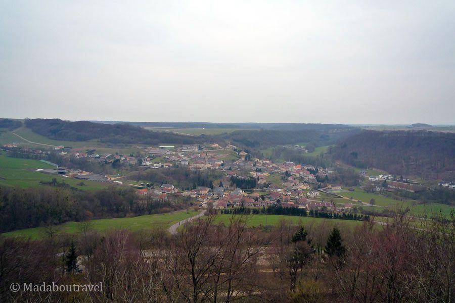 La región de la Mosela vista desde Malbrouck