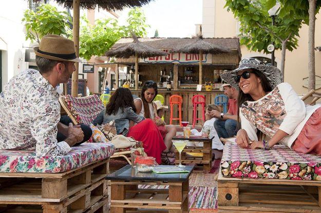 Gypset Bar, la terraza chic de La Roca Village