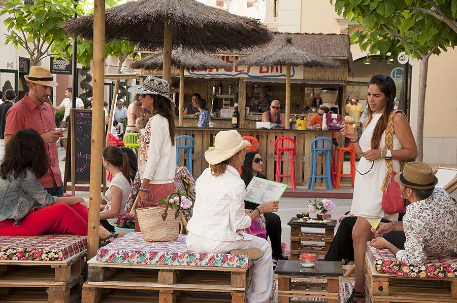 Afterwork en el Gypset Bar de la Roca Village