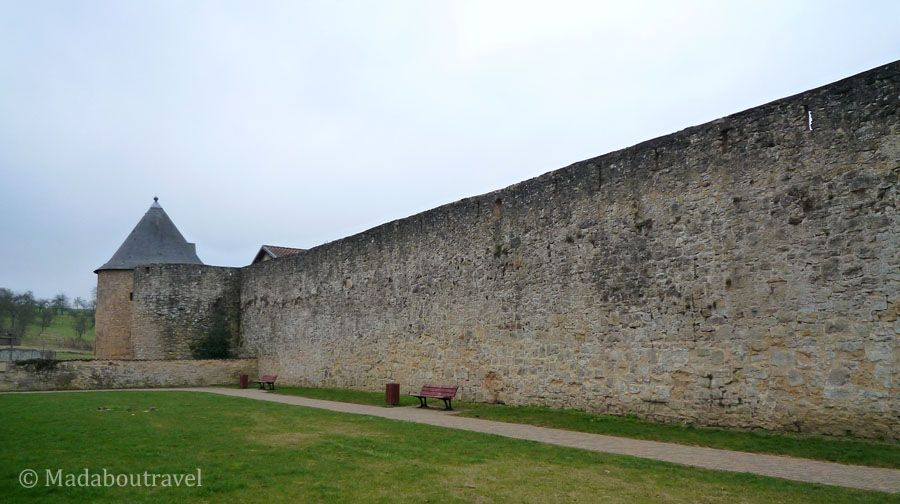 Murallas de Rodemack