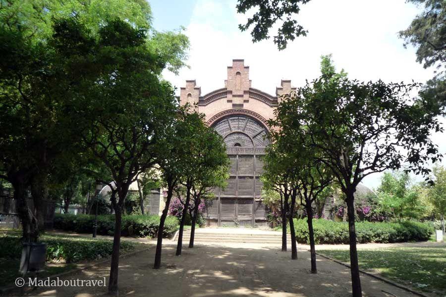 Hibernáculo del parque de la Ciudadela de Barcelona