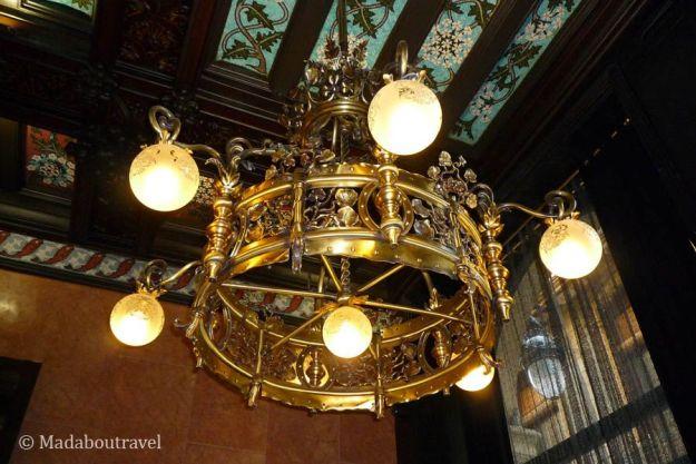 Lámparas modernistas