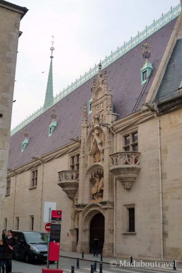 Fachada del Palacio Ducal de Nancy