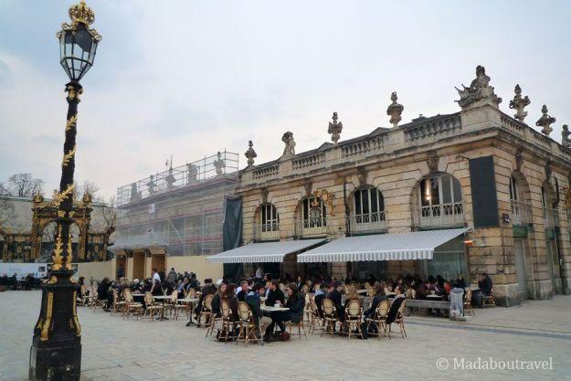 Terracitas en la Plaza Stanislas de Nancy