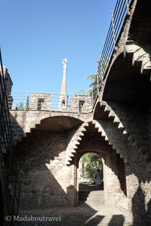 Recinto de acceso al mirador de la Torre Bellesguard