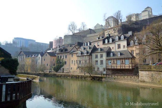 Barrio del Grund en Luxemburgo