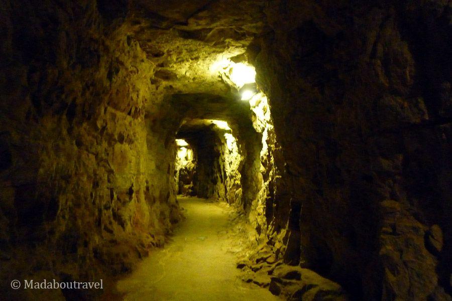 Túnel de las casamatas del Bock de Luxemburgo