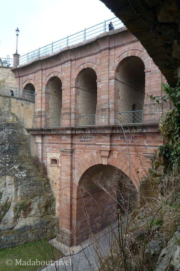 Pont du Château, casamatas del Bock de Luxemburgo