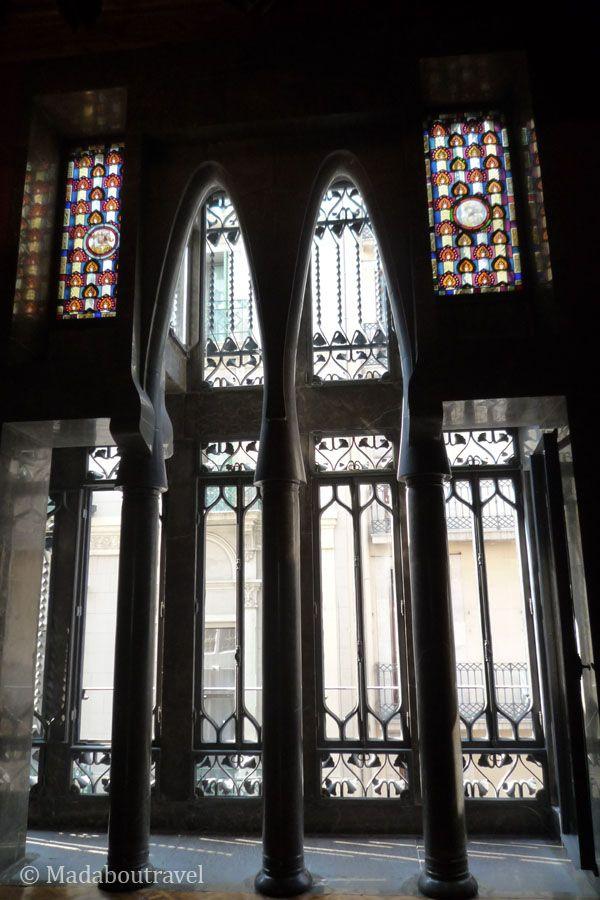 Sala de los pasos perdidos en el Palau Güell