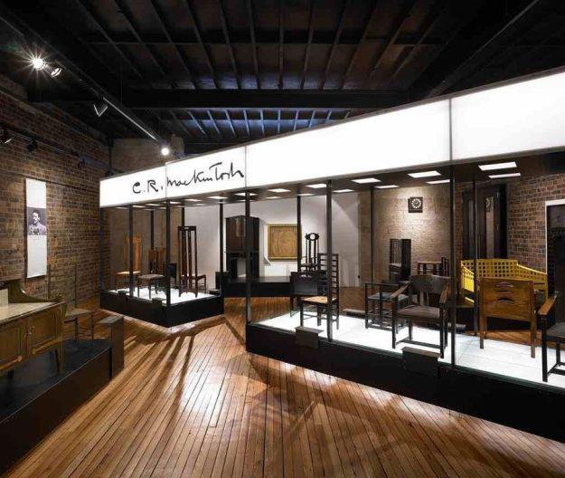 Galería de mobiliario de Mackintosh en la Escuela de Arte de Glasgow Foto (c) The Glasgow School of Art