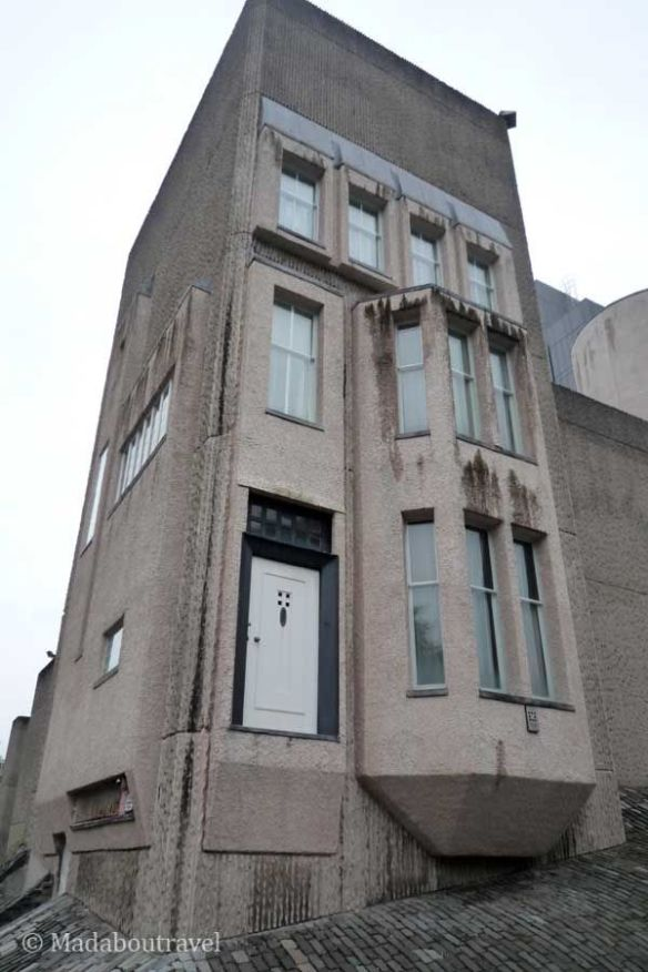 La casa de Mackintosh en Glasgow