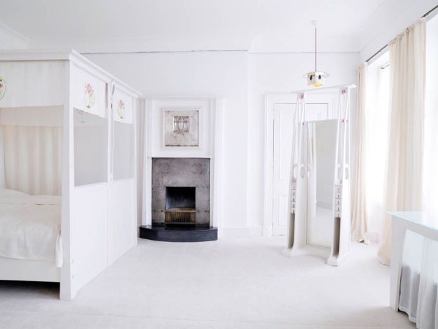 The Mackintosh House Bedroom © The Hunterian, University of Glasgow 2012