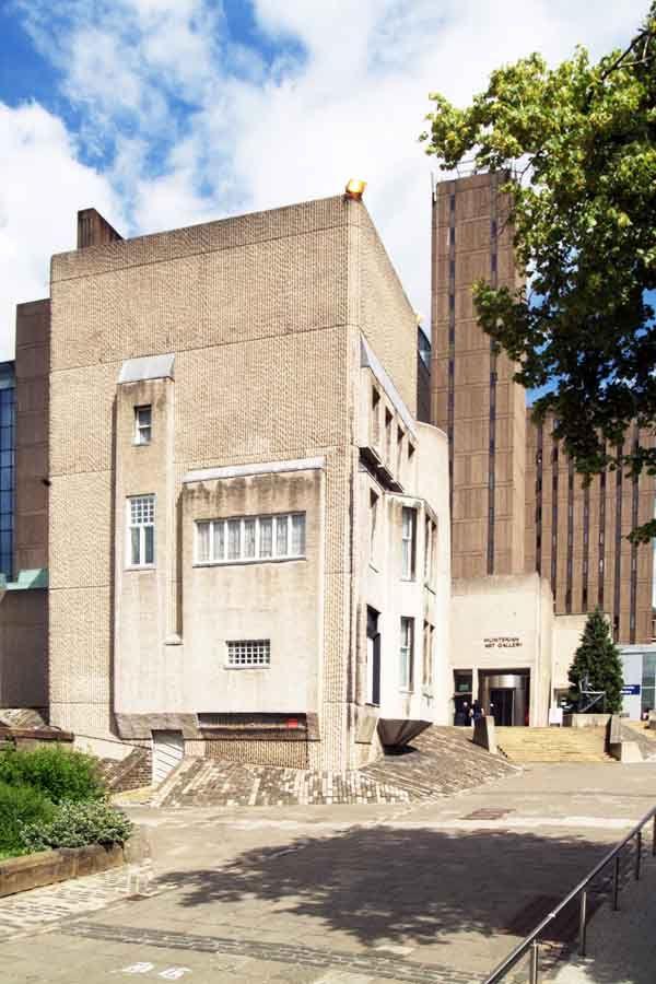 La colección Hunterian y la Casa de Mackintosh © The Hunterian, University of Glasgow 2012.