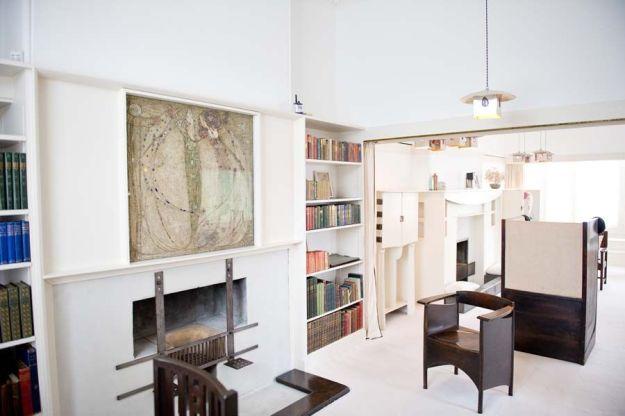 The Mackintosh House Studio-Drawing Room © The Hunterian, University of Glasgow 2012.