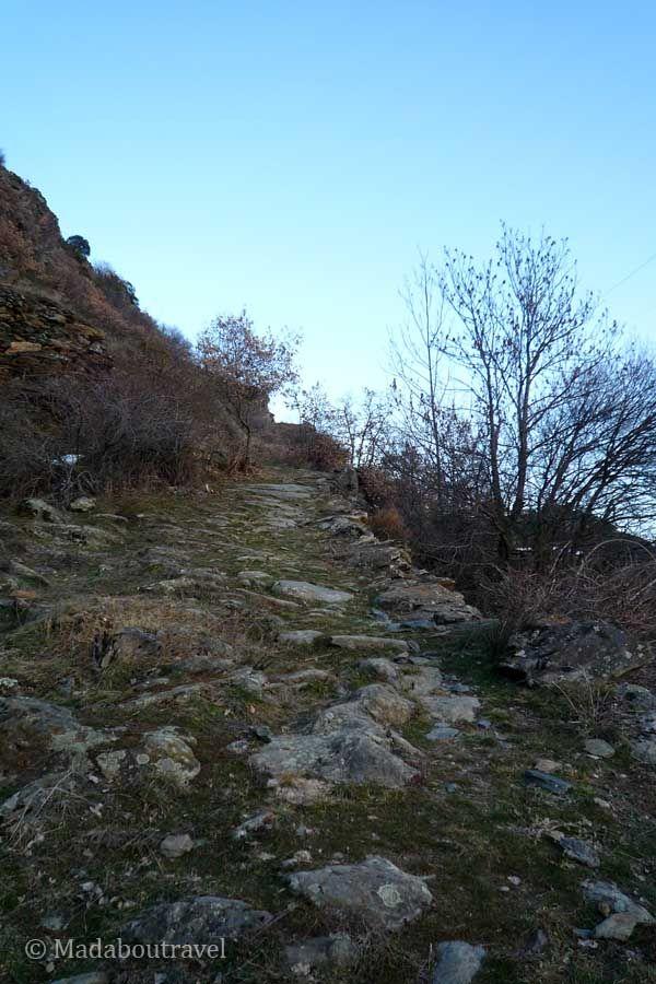 Sendero que va de Isavarre a Esterri d'Àneu