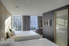 Habitación moderna en el Grassmarket Hotel de Edimburgo