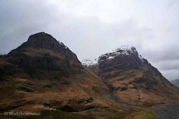 Dos de las Three Sisters en Glencoe