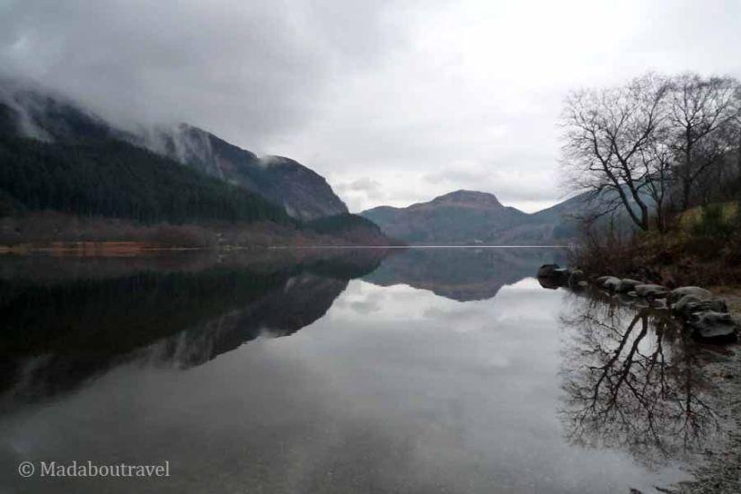 Loch Lubnaig en Escocia